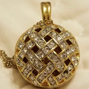 Vintage Swarovski crystal necklace